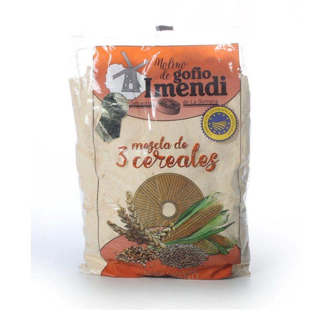Gofio Imendi 3 Cereales